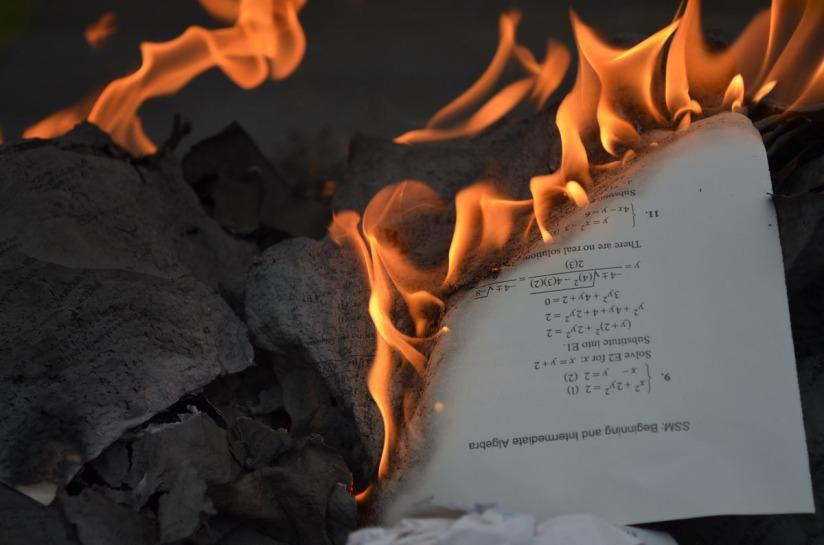 Burn a