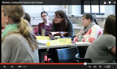 Facing the Future and WWU JoinForces
